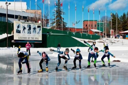 Lake Placid Speed Skating Oval